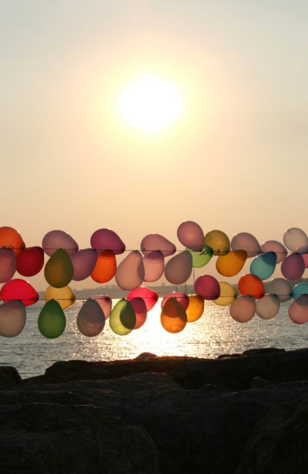 light, colorful perimeter